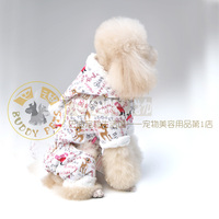 Одежда для собак 1pc Pet clothes autumn and winter dog clothes christmas teddy clothes autumn dog accessories