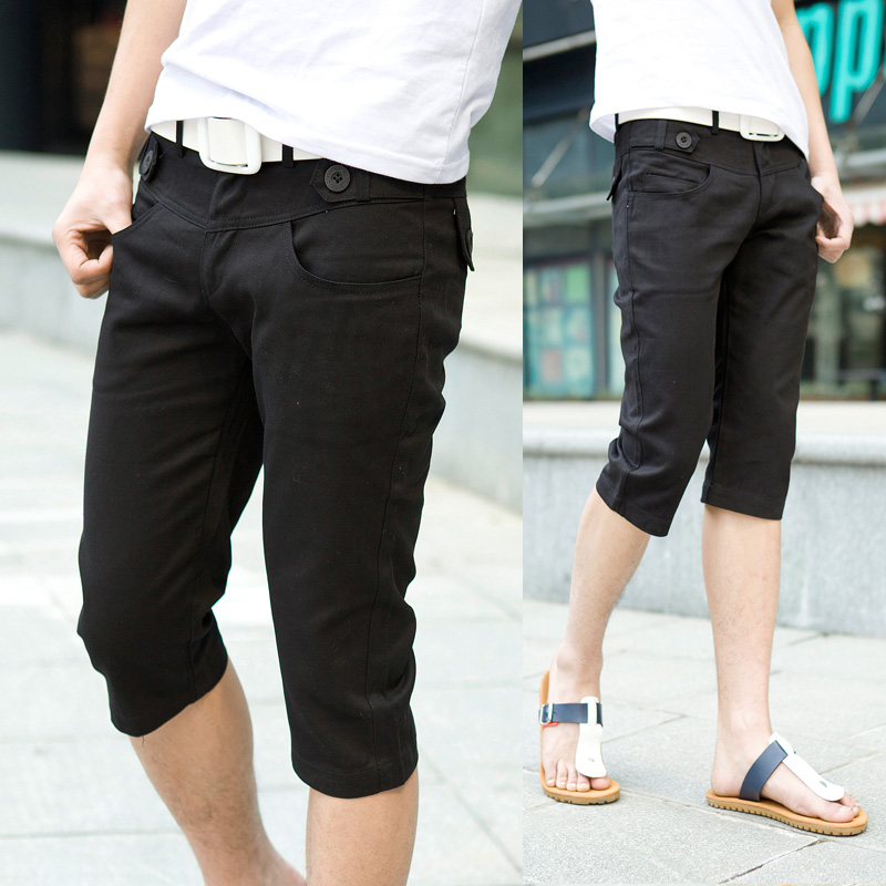 Mens Skinny Capri Pants - Fat Pants