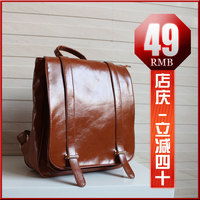 Рюкзак new style solid women Vintage backpack fashion bags PU leather Handbag