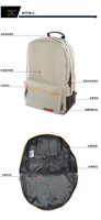 Рюкзак 2013 apan Fashon Canvas backpack preppy style travel bag laptop bag student school bag