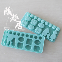 Инструменты для выпечки Moomin diy cake silica gel mould ice mould ice cube tray product