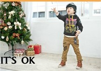 Брюки для девочек piece/lot children's clothing male and female child spring 2013 trousers casual pants 5-b arrow pants