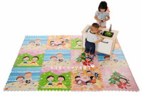 Детский игровой коврик Baby crawling pad eva foam puzzle mats baby crawling mat eco-friendly child mats